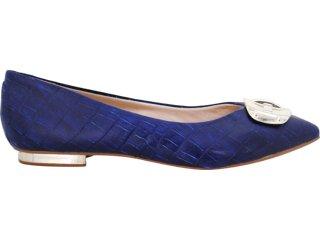 Sapato Feminino Vizzano 1099101 Azul - Tamanho Médio