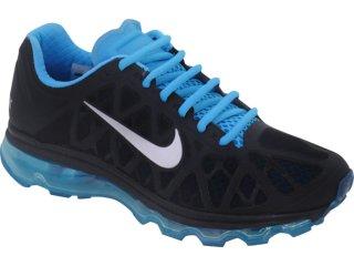 best service c904e d7edf Tênis Masculino Nike Air Max 2011 429889-040 Preto azul