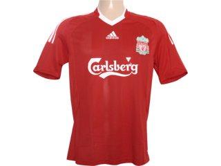 Camisa Masculina Adidas 313214 Livepool  Vermelho - Tamanho Médio