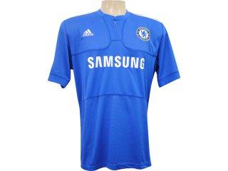 Camisa Masculina Adidas E84291 Chelsea Azul - Tamanho Médio