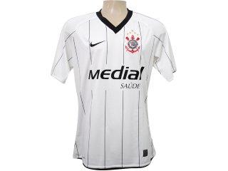 Camisa Feminina Nike 268316-100 Corinthians Branco - Tamanho Médio