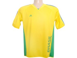 Camiseta Masculina Adidas 838705 Amarelo - Tamanho Médio