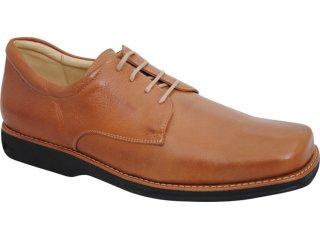 Sapato Masculino Ferricelli 400 Havana - Tamanho Médio