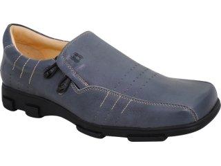 Sapato Masculino Ferricelli 3010 Grafite - Tamanho Médio