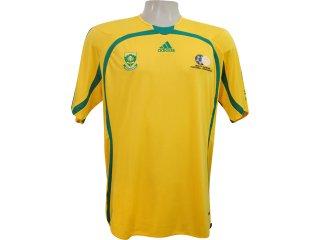 Camiseta Masculina Adidas 740153 Amarelo - Tamanho Médio