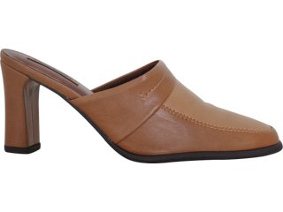 Mule Feminino Piccadilly Picacadilly 311.007 Nozes/came - Tamanho Médio