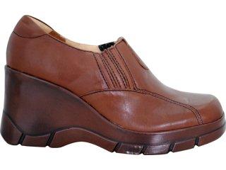 Sapato Feminino Dakota F2261 Café - Tamanho Médio
