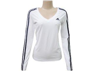 Blusa Feminina Adidas P79500 Branco - Tamanho Médio