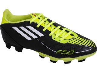 Chuteira Masculina Adidas f5 Trx U44277 Preto/verde - Tamanho Médio