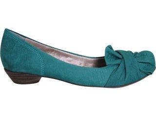 Sapato Feminino Ramarim 111107 Verde - Tamanho Médio