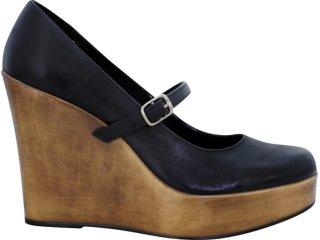 Sapato Feminino Via Marte 07-5602 Preto - Tamanho Médio
