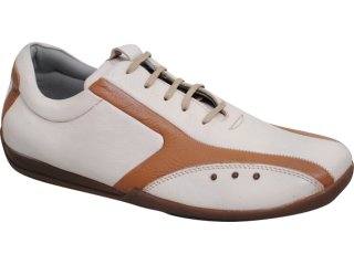 Sapato Masculino Democrata 232002 Caramelo - Tamanho Médio