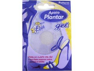 Apoio P/sapatos Feminino Palterm 540 Apoio Plantar Gel Transparente - Tamanho Médio