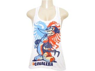 Regata Feminina Cavalera Clothing 09.01.2226 Off White - Tamanho Médio