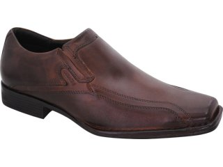 Sapato Masculino Ferracini 4280 Tabaco - Tamanho Médio