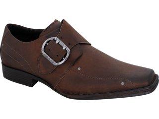 Sapato Masculino Ferracini 4284 Café - Tamanho Médio
