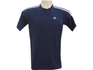 Camiseta Masculina Adidas 946572 Marinho - Tamanho Médio
