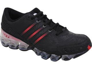 Tênis Masculino Adidas Rava mb G17033 Preto/vermelho - Tamanho Médio
