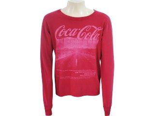 Camiseta Masculina Coca-cola Shoes 353202380 Vermelho - Tamanho Médio