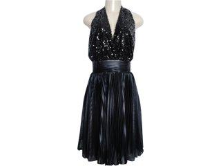 Vestido Feminino Moikana 3029 Preto - Tamanho Médio