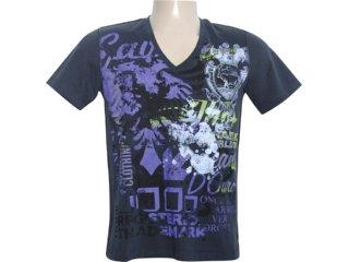 Camiseta Masculina Cavalera Clothing 01.01.5708 Preto - Tamanho Médio