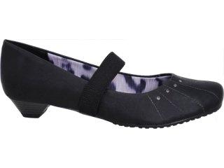 Sapato Feminino Via Marte 10-6511 Preto - Tamanho Médio