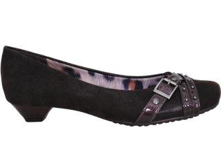 Sapato Feminino Via Marte 10-6507 Café - Tamanho Médio