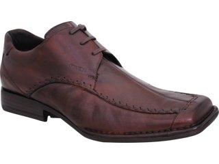 Sapato Masculino Ferracini 8110 Tabaco - Tamanho Médio