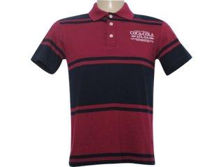 Camiseta Masculina Coca-cola Clothing 253200305 Bordo - Tamanho Médio