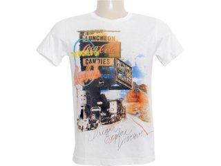 Camiseta Masculina Coca-cola Clothing 353202339 Off White - Tamanho Médio