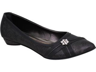 Sapato Feminino Tanara 7521 Preto - Tamanho Médio