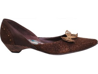 Sapato Feminino Tanara 6161 Tabaco - Tamanho Médio