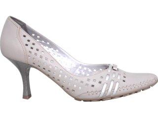 Sapato Feminino Ramarim 47106 Gelo - Tamanho Médio