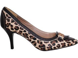 Sapato Feminino Vizzano 1026100 Onca - Tamanho Médio