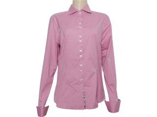 Camisa Feminina Dudalina 232.000.500 Rosa - Tamanho Médio