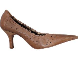 Sapato Feminino Tanara 4115 Castanho - Tamanho Médio