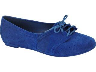 Sapato Feminino Grendene 16239 Azul - Tamanho Médio