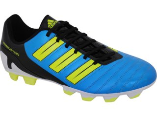 Chuteira Masculina Adidas Predito G29574 Pto/verde/azul - Tamanho Médio