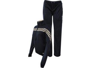 Abrigo Feminino Adidas O03218 Preto/dourado - Tamanho Médio