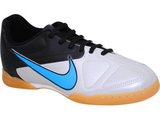 Tênis Masculino Nike jr Enganche 432910-041 Preto/prata - Tamanho Médio