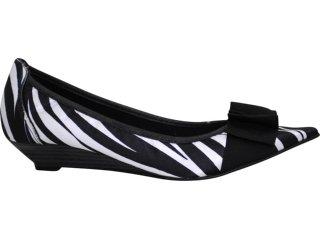 Sapato Feminino Brenners 195 Zebra - Tamanho Médio