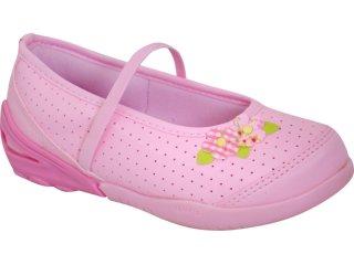 Sapato Fem Infantil Pampili 377.024 Rosa - Tamanho Médio