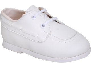 Sapato Fem Infantil Pampili 04.202 Branco - Tamanho Médio