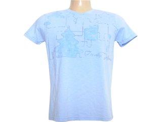 Camiseta Masculina Index 08.02.0742 Azul - Tamanho Médio