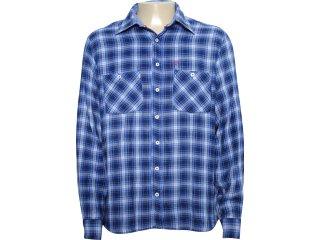 Camisa Masculina Individual 302.415.030 Azul - Tamanho Médio