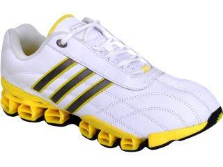 Tênis Masculino Adidas Kundo 11 G42508 Branco/amarelo - Tamanho Médio