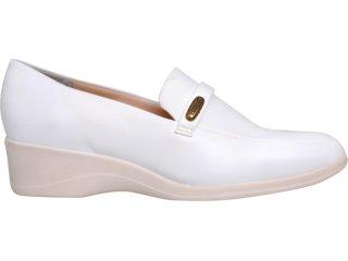 Sapato Feminino Piccadilly 210.042 Branco - Tamanho Médio