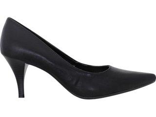 Sapato Feminino Via Marte 10-5605 Preto - Tamanho Médio
