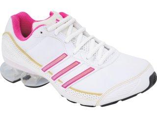 Tênis Feminino Adidas Cosmos G42154 Branco/rosa - Tamanho Médio