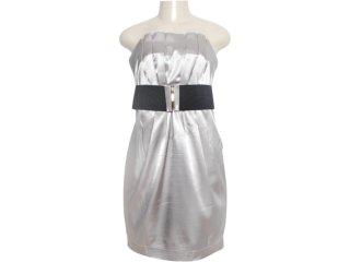 Vestido Feminino Dopping 018019517 Cinza - Tamanho Médio